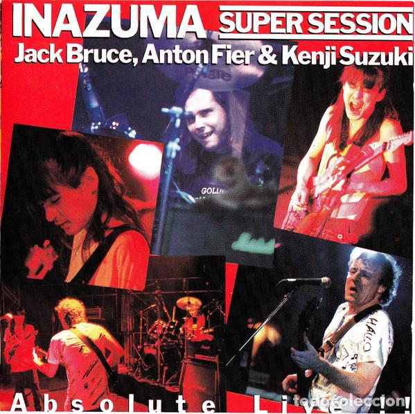 JACK BRUCE, ANTON FIER & KENJI SUZUKI – INAZUMA SUPER SESSION ABSOLUTE LIVE 1987 !! CD, COLLECTORS (Música - CD's Jazz, Blues, Soul y Gospel)