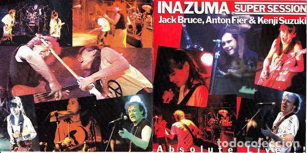 CDs de Música: Jack Bruce, Anton Fier & Kenji Suzuki – Inazuma Super Session Absolute Live 1987 !! cd, collectors - Foto 3 - 198042727