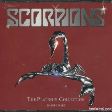 CDs de Música: SCORPIONS THE BEST 3 CDS. Lote 198071875