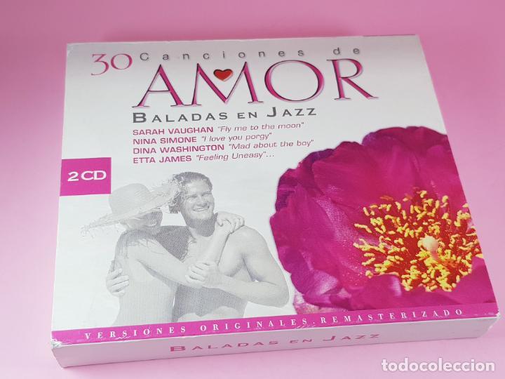 CDs de Música: LOTE 30 CANCIONES DE AMOR-BALADAS DE JAZZ-2 CDS-VER FOTOS - Foto 5 - 198119022