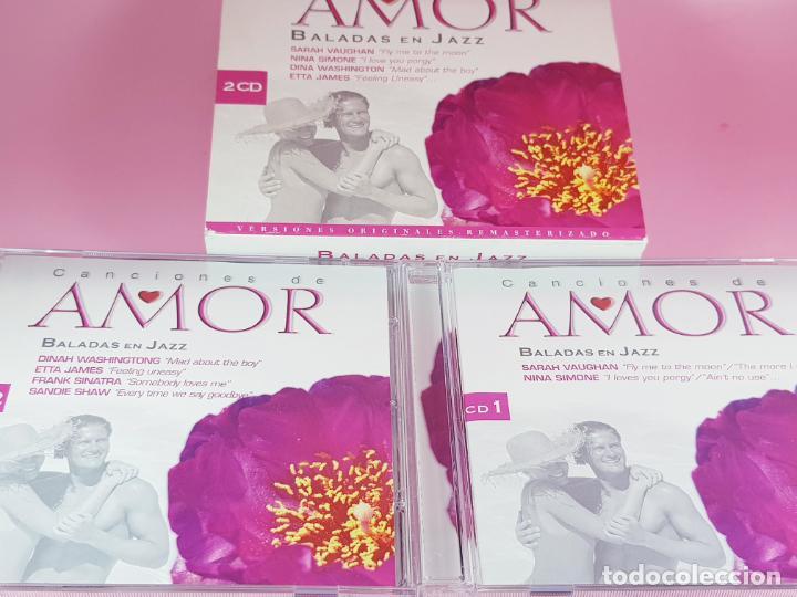 LOTE 30 CANCIONES DE AMOR-BALADAS DE JAZZ-2 CDS-VER FOTOS (Música - CD's Jazz, Blues, Soul y Gospel)