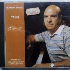 CDs de Música: CLAUDIO PRIETO. TRÍOS. CD ARAMBOL 89-1. ESPAÑA 1989. TRÍO MOMPOU. CONTEMPORÁNEA.. Lote 198135137