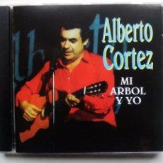 CDs de Música: ALBERTO CORTEZ. MI ÁRBOL Y YO. CD ORFEÓN ORF 1231 2. ESPAÑA 1999.. Lote 198139161