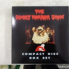 CDs de Música: THE ROCKY HORROR SHOW - COMPACT DISC BOX SET - PACK CON TRES CDS + EXTRAS. Lote 198183498