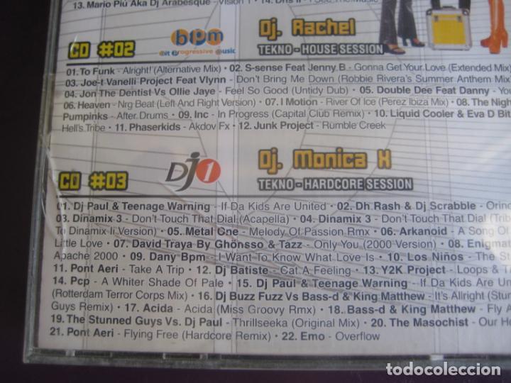 CDs de Música: Tekno Women TRIPLE CD BIT MUSIC 2001 - TRANCE PROGRESIVO - MAKINA - HARDCORE - HOUSE - Foto 4 - 198344123