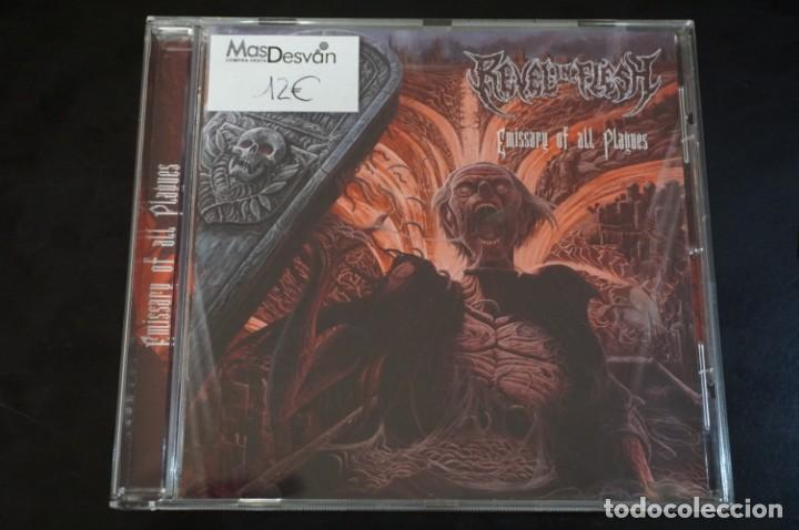 (CD - NUEVO) / REVEL IN FLESH – EMISSARY OF ALL PLAGUES - CYCLONE EMPIRE – CYC 164-2 (Música - CD's Heavy Metal)