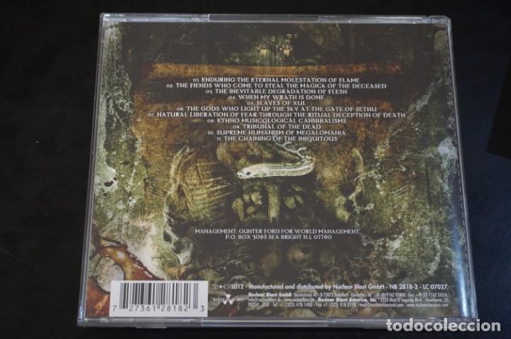 CDs de Música: (CD - nuevo) / Nile – At The Gate Of Sethu - Nuclear Blast – 27361 28182 - Foto 2 - 198344358