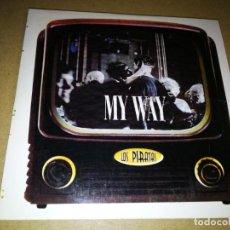 CDs de Música: LOS PIRATAS MY WAY CD SINGLE PROMOCIONAL DE CARTON AÑO 1999 1 TEMA IVAN FERREIRO. Lote 198394030