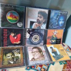 CDs de Música: LOTE DE 9 CD MÚSICA ( SOLISTAS EXTRANJEROS HOMBRES ). Lote 198464201