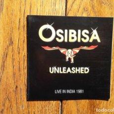 CDs de Música: OSIBISA - UNLEASHED - LIVE IN INDIA 1981 . Lote 198467660