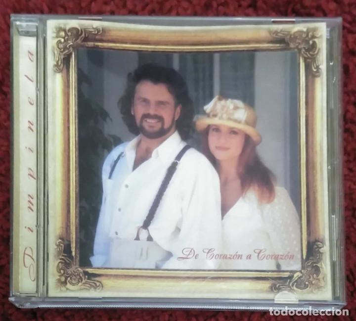 PIMPINELA (DE CORAZON A CORAZON) CD 1995 (Música - CD's Melódica )