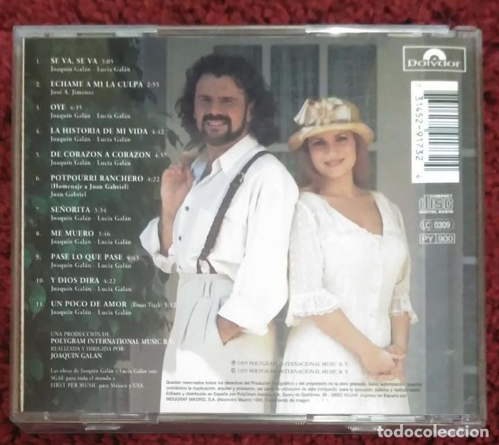CDs de Música: PIMPINELA (DE CORAZON A CORAZON) CD 1995 - Foto 2 - 198478817