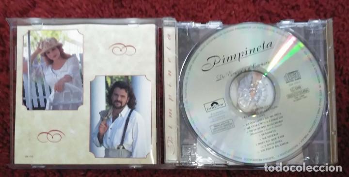 CDs de Música: PIMPINELA (DE CORAZON A CORAZON) CD 1995 - Foto 3 - 198478817