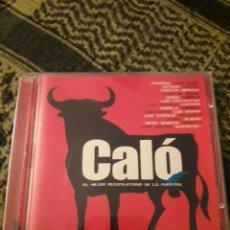 CDs de Música: DOBLE CD. CALO. EL MEJOR RECOPILATORIO DE LO NUESTRO. VARIOS ARTISTAS. EDICION DIVUCSA DE 2004. RARO. Lote 198500300