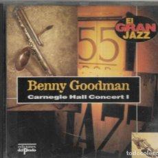 CDs de Música: == CD255 - EL GRAN JAZZ - BENNY GOODMAN - CARNEGIE HALL CONCERT I. Lote 198503938