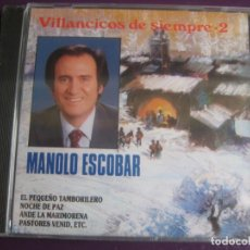 CDs de Música: MANOLO ESCOBAR CD PERFIL PRECINTADO - VILLANCICOS DE SIEMPRE VOL 2 - 12 TEMAS - CANCION ESPAÑOLA. Lote 198546472