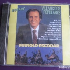 CDs de Música: MANOLO ESCOBAR CD DIVUCSA 1994 PRECINTADO - VILLANCICOS POPULARES - 10 TEMAS - CANCION ESPAÑOLA. Lote 198546628