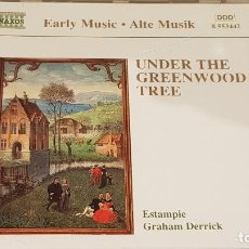 CDs de Música: UNDER THE GREENWOOD TREE / ESTAMPIE / HRAHAM DERRICK / CD - NAXOS / DE LUJO. Lote 198547278