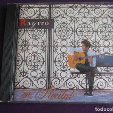 CDs de Música: RAYITO CD VITAL 1994 - EN RECITAL - EL MUNDO MÁGICO DE RAYITO - FLAMENCO GUITARRA . Lote 198548255