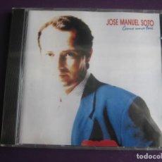 CDs de Música: JOSÉ MANUEL SOTO CD EPIC 1989 PRECINTADO - COMO UNA LUZ - NUEVA COPLA - CANCION ESPAÑOLA. Lote 198553150