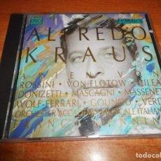 CDs de Música: ALFREDO KRAUS GALA KONZERT ARIEN VON ROSSINI VON FLOTOW CD ALBUM 1991 CONTIENE 16 TEMAS. Lote 198557962