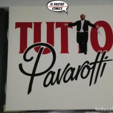 CDs de Música: PAVAROTTI, TUTTO, SONGS AND ARIAS, DOBLE, CON DOS CD, 1989. Lote 198558291