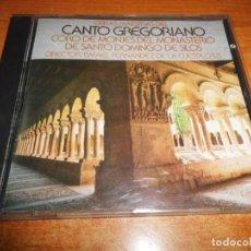 CDs de Música: CANTO GREGORIANO MONJES MONASTERIO DE SILOS ISMAEL FERNANDEZ DE LA CUESTA CD ALBUM 1989 14 TEMAS. Lote 198559427