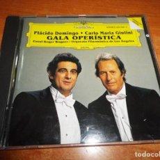 CDs de Música: GALA OPERISTICA PLACIDO DOMINGO CARLO MARIA GIULINI CORAL ROGER WAGNER CD ALBUM 1981 9 TEMAS. Lote 198561940