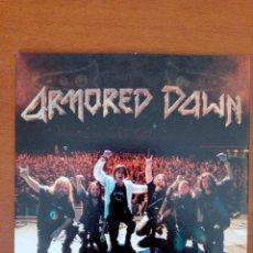 CDs de Música: ARMORED DAWN CD-SINGLE CARDBOARD MEGA RARO VINTAGE 4 TRACKS NUEVO PARA USO PROMOCIONAL SOLO. Lote 198566301