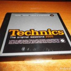 CDs de Música: TECHNICS THE ORIGINAL SESSIONS 2005 TRIPLE CD 2005 DJ SAMMY TIESTO KIRSTY HAWSHAW GABRY PONTE 3 CD. Lote 198567728