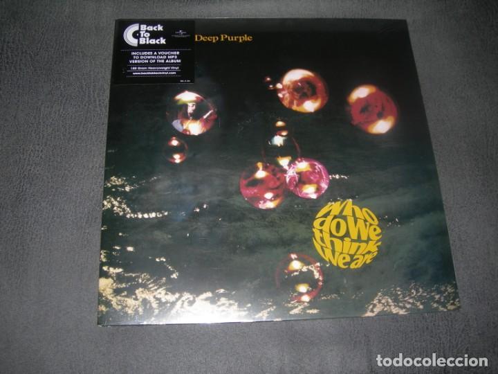 LP NUEVO DEEP PURPLE-WHO DO WE THINK WE ARE ENVIO CERTIFICADO Y GRATUITO (Música - CD's Heavy Metal)
