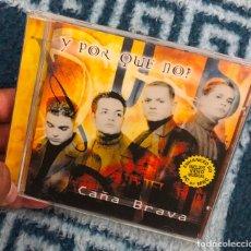 CDs de Música: CD ALBUM ORQUESTA BANDA CAÑA BRAVA CAÑABRAVA Y POR QUE NO PORQUE MERENGUE LP SINGLE MC CASE SALSA. Lote 198637786
