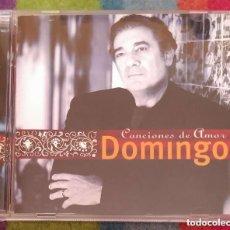 CDs de Música: PLACIDO DOMINGO (CANCIONES DE AMOR) CD 2000. Lote 198638132