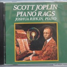 CDs de Música: CD. SCOTT JOPLIN. PIANO RAGS. JOSHUA RIFKIN. Lote 198645823