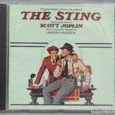 CDs de Música: CD. THE STING. B.S.O. SCOTT JOPLIN. Lote 198645920