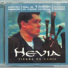 CDs de Música: CD. HEVIA. TIERRA DE NADIE. Lote 198646186