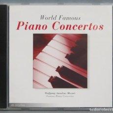 CDs de Música: CD. PIANO CONCERTOS. WORLD FAMOUS. Lote 198646993