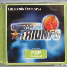 CDs de Música: CD. OPERACION TRIUNFO. POP. Lote 198647066