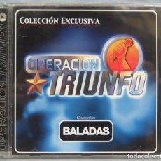 CDs de Música: CD. OPERACION TRIUNFO. BALADAS. Lote 198647687