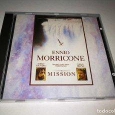 CDs de Música: LA MISION THE MISSION ENNIO MORRICONE CD BANDA SONORA ORIGINAL DEL AÑO 1986 CONTIENE 20 TEMAS. Lote 198686567