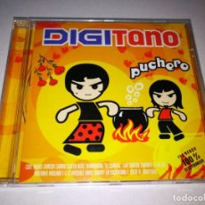 CDs de Música: DIGITANO PUCHERO CD ALBUM PRECINTADO NONO GARCIA LA EXCEPCION EVA DURAN CONTIENE 16 TEMAS REMIXES. Lote 198688747
