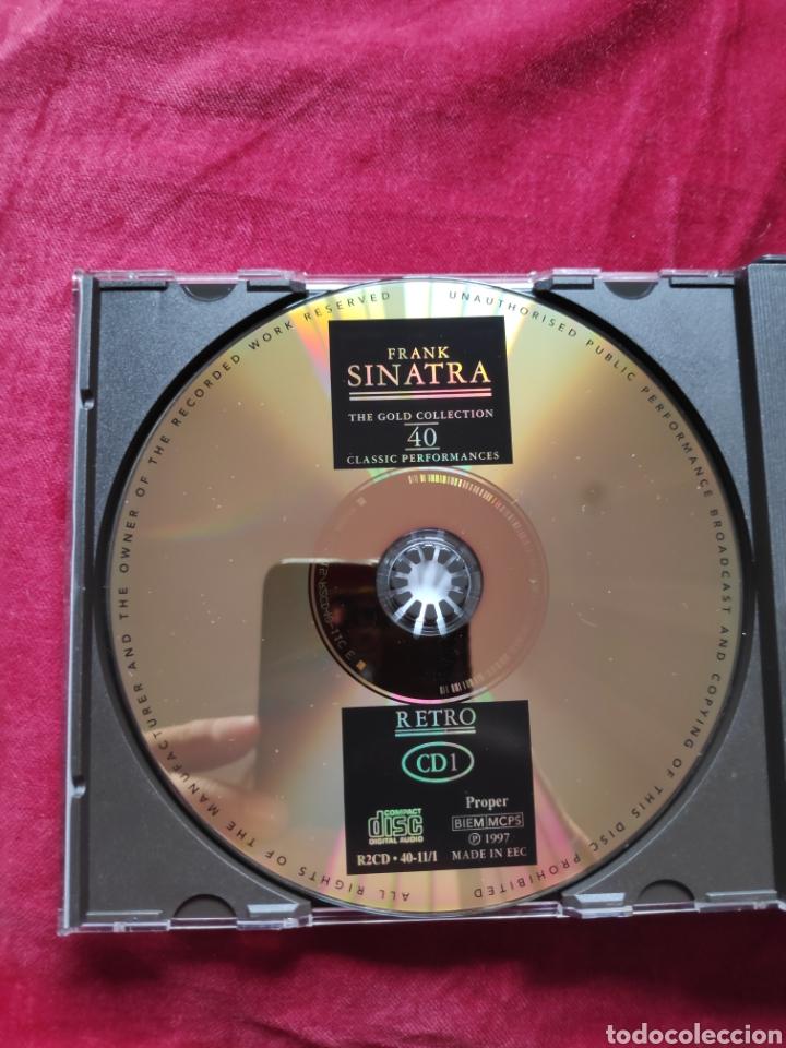 CDs de Música: Frank Sinatra - CD álbum - Dejavu Retro Gold collection - Deluxe edition - Libreto, y fotos inéditas - Foto 4 - 198720245