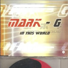 CDs de Musique: MARK-G - IN THIS WORLD (FOUR VERSIONS) (CDSINGLE CAJA, VALE MUSIC 2000). Lote 198736930