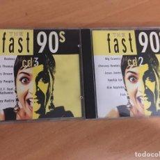 CDs de Música: THE FAST 90'S 2 CD (CDIB8). Lote 198748628