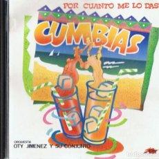 CDs de Musique: POR CUANTO ME LO DAS CUMBIAS . Lote 198807435
