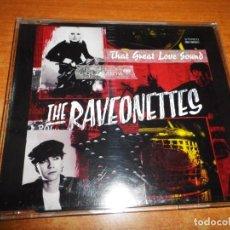 CDs de Música: THE RAVEONETTES THAT HEAT LOVE SOUND CD SINGLE PROMO AÑO 2003 PORTADA DE PLASTICO 1 TEMA. Lote 198829036