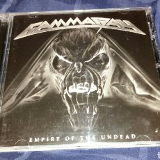 CDs de Música: GAMMA RAY - EMPIRE OF THE UNDEAD. 2014. Lote 198853542