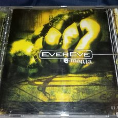 CDs de Música: EVEREVE - E-MANIA. METAL PROGRESIVO. MASSACRE RECORDS. AÑO 2001. Lote 198853633