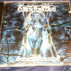 CDs de Música: NO RETURN - MACHINERY. DEATH METAL. AÑO 2002. NUCLEAR BLAST. Lote 198854501