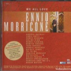 CDs de Música: ENNIO MORRICONE WE ALL LOVE. Lote 198855591